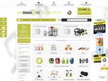 Screenshot Bodybrands4you Website
