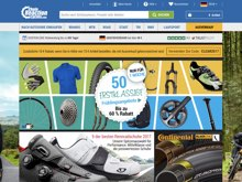 Screenshot Chain Reaction Cycles Website