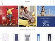 Screenshot Esprit Website