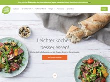 Screenshot HelloFresh Website