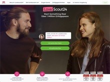 Screenshot LoveScout24 Website