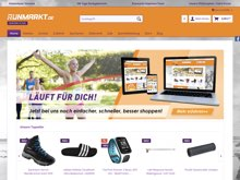 Screenshot Runmarkt Website