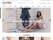 Screenshot spartoo Website